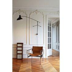 DCW éditions Lampe Mantis BS2 Wandleuchte   FLINDERS versendet gratis Serge Mouille, Oversized Mirror, Modern Design, Divider, Lighting, Mantis, Interior, Wall, Room