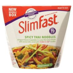 Slim Fast Spicy Thai Noodle Box 240 g, 2016 Amazon Hot New Releases Soups, Stocks & Broths  #Grocery