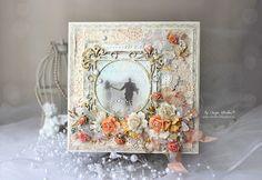 Scrap-Imaginarium: Свадебная тема и расскажу о приятном:) / Weeding card