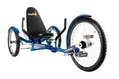"""MOBO Cruiser """"Triton Pro"""" Liegefahrrad Dreirad - Liegerad Blau"""