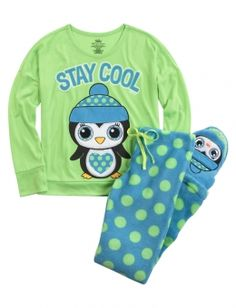 Shop Penguin Fleece Pajama Set and other trendy girls sets pajamas at Justice. Find the cutest girls pajamas to make a statement today.