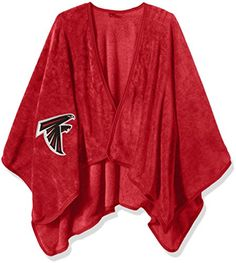 NFL Atlanta Falcons Silk Touch Throw Wrap 55 x 535 Red *** Click image for more details.