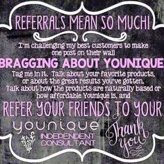 So Day 3 of the #30DoG #30DoT today I am grateful for the amazing customers Ihave met over the past year. I look at them as not customers but as friends that I want to share my love of Younique with! #ilovemyjob #iBleedPurple #iamaluckygirl #grateful #gratitude