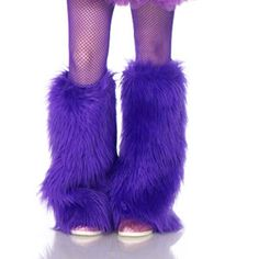 fuzzy leg warmers for cheshire cat?