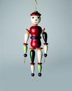 Oskar Schlemmer, Jointed Doll, 1922. Collection Bauhaus archiv