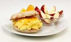 Friendly's Kids LiveWell English Muffin and Egg Sandwich