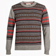 Universal Works Fair Isle Knit - Made in Nottingham, England.