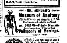 The ploy would go something like this: A San Franciscan, bent on a morbid curiosity,... San Francisco Tours, Curiosity, Anatomy, Museum, History, Heart, Historia, Museums, Hearts
