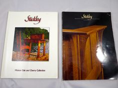 Vintage Stickley Furniture Catalog Books Mission Style Furniture Factory Products Stickley Reproductions 1980's Mission Oak Cherry Furniture by BonniesVintageAttic on Etsy
