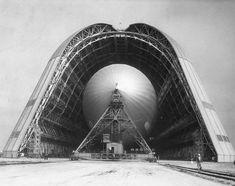 Zeppelin hangar.