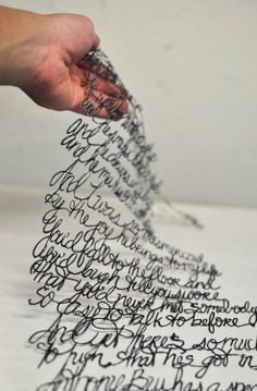 How awesome is this!! Would love to do something in photography like this involving typography..