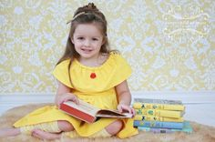 Pin for Later: 200+ Adorable Halloween Costumes For Your Trick-or-Treating Tot Belle If she's a Beauty and the Beast fan, this little yellow Belle dress ($44) makes a sweet and simple costume.