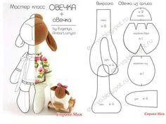 cute stuffed animal w/mini stuffed toy w/pattern.cute cute stuffed animal w/mini stuffed toy w/pattern.cute Ines S inesspe Sewing - Playful cute stuffed animal w/mini stuffed toy w/pattern.cute Ines S cute stuffed animal w/mini stuffed toy w Felt Crafts, Fabric Crafts, Sewing Crafts, Sewing Projects, Animal Sewing Patterns, Doll Patterns, Bear Patterns, Fabric Animals, Fabric Toys