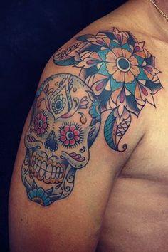 #tattoo #sugarskull