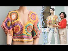 Crochet Bag Tutorials, Crochet Projects, Crochet Patterns, Crochet Poncho, Crochet Top, Shrugs And Boleros, Hippie Crochet, Crochet Clothes, Free Pattern
