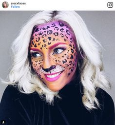 screen shot 2017 09 28 at 2 11 17 pm These Lisa Frank inspired Halloween makeup looks will set your 90s soul on fire