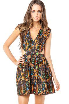 ShopSosie Style : Tribal Edge Dress