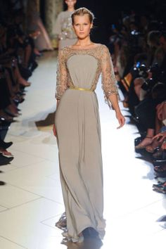 Elie Saab Fall 2012 Couture Runway - Elie Saab Haute Couture Collection - ELLE