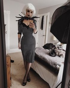 """6,669 Likes, 31 Comments - Miranda Rights™ (@mirandarightsofficial) on Instagram: """"The pumpkin queen. • • • Suit • @pinupgirlclothing Bow tie • handmade Wig • @rockstarwigs…"""""""