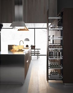 Fitted #kitchen With Island KALEA By CESAR ARREDAMENTI | #design Gian  Vittorio Plazzogna @Cesar Cucine U0026 Living | Kitchens | Design | Pinterest |  Fitted ...