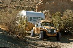 Baja Bug & Trailer