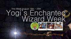 Join us August 19th-25th for Yogi Bear's Enchanted Wizard's Week! During Arts n' Crafts make your own wand!, Quidditch tournaments, costume contests, and much more!  www.jellystonemarion.com