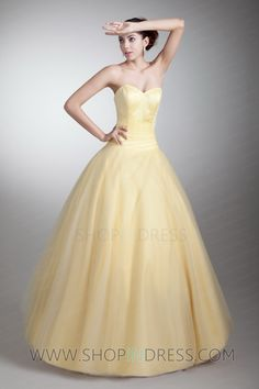 yellow Ball Gown???