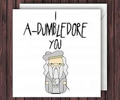 Harry Potter Valentines Day Card