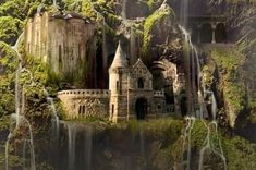 Here's What You Need To Know About This Breathtaking Waterfall Castle
