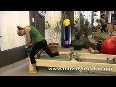 """Pilates Shorts"" - Reformer Eve's Lunge & Standing Side Splits - YouTube"
