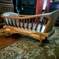 My second son is done with this cradle I made a couple years ago. Took about 60 hours to make, only to be used for a total of 4 months between two babies. Now, it's just a basket for stuffed animals. Figured sassafras and cocobolo. Woodworking For Kids, Woodworking Plans, Woodworking Projects, Diy Projects, Woodworking Machinery, Woodworking Tools, Furniture Plans, Custom Furniture, Furniture Buyers