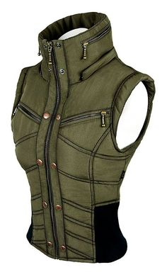 Ayyawear Ripstop Puma Vest in Army Green Optional by Verillas