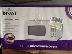 Microwave still in box in MustGoRightNow's Garage Sale in Mckees Rocks , PA for $30. Bought the microwave a few months ago. Now i have an extra that needs to go. Call or text [Phone Number removed]