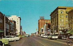 1959 Garrison Avenue ft Fort Smith AR Arkansas Vintage Downtown Ave Postcard | eBay