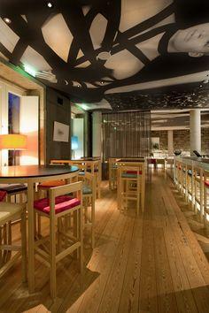 Brac Restaurante in Braga, Portugal by Machado + Braga Macedo Arquitectos