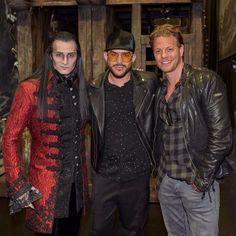 2017-11-07 Adam Lambert attends the Tanz der Vampire musical | Vienna, Austria