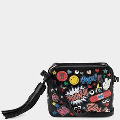 All Over Stickers Cross-Body