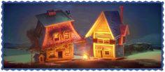 """""""HOME, SWEET HOME"""" VALORES. SUPERACIÓN, BÚSQUEDA https://vimeo.com/113868429 Cuenta la historia de una casa que emprende una aventura épica después de escapar de sus suburbios en busca de un mejor lugar,"""