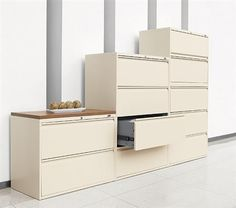 OfficeFurnitureDeals.com provides luxury file cabinets for sale at discount prices for home and business environments. #FileCabinets #Organizing #Storage