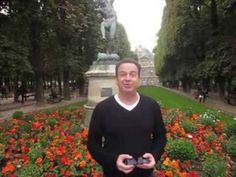 TV host Robert Bornstein tours the magnificent Luxembourg Gardens of Paris, France. Paradise Garden, Tropical Paradise, Luxembourg Gardens, I Love Paris, South Florida, Paris France, Cathedral, Tours, Tv