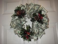 the gifted life: 3-Money Wreath