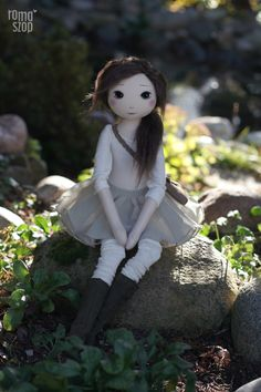Lei – roma z Kamiennej Zatoki, handmade doll by romaszop