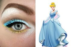 Cinderella ~Disney Makeup series @Emma Zangs Zangs Zangs smullen I like this w/o the yellow