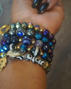 Cosmic Soul Charm Bead Bracelets Urban Electric, Charm Bead, Cosmic, Beaded Bracelets, Photo And Video, Beads, Jewelry, Instagram, Beading
