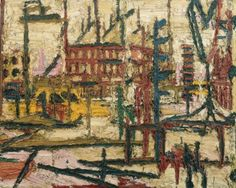 frank auerbach landscapes - Google Search