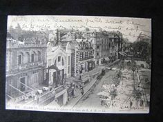 BIARRITZ-FRANCE-TRAIN-STATION-1912-PRE-WWI-POSTCARD