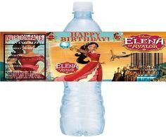 Princess Elena of Avalor Printable Water Bottle Labels