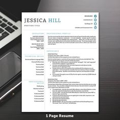 professional resume template for word and pages professional cv template 1 2 and 3 page resume template icons instant download professional resume