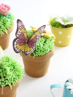 Planter Pots, Blog, Inspiration, Yummy Cupcakes, Recipe, Butterflies, Spring, Biblical Inspiration, Blogging
