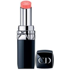 Dior Spring Rouge Dior Baume Lip Colour ($35) ❤ liked on Polyvore featuring beauty products, makeup, lip makeup, lipstick, spring, christian dior, glossy lipstick, christian dior lipstick and lip gloss makeup